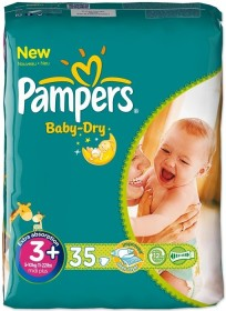 Pampers Baby-Dry Gr.3 Einwegwindel, 4-9kg, 35 Stück