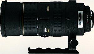 Sigma AF 50-500mm 4.0-6.3 EX APO HSM RF do Canon EF czarny (735927)