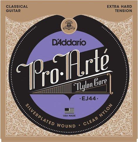 D'Addario Pro-Arté Nylon Core, Extra Hard Tension (EJ44)