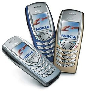 Telco Nokia 6100 (various contracts)