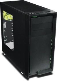Nanoxia CoolForce 2 schwarz, Acrylfenster, schallgedämmt (NXCF2)