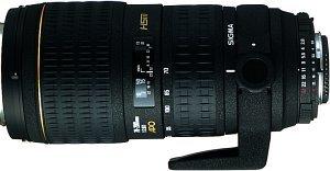 Sigma AF 70-200mm 2.8 EX APO HSM IF für Canon EF schwarz (566954)
