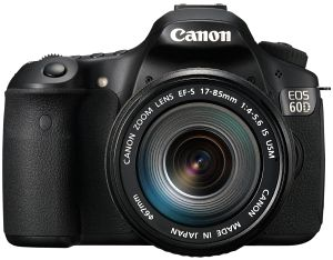Canon EOS 60D black with lens EF-S 17-55mm 2.8 IS USM (4460B086)