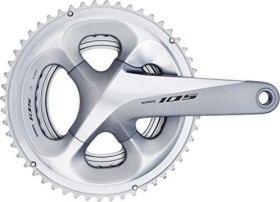 Shimano 105 FC-R7000 172.5mm 52/36 Kurbelgarnitur spark silver (I-FCR7000DX26S)