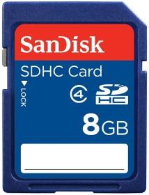 SanDisk SDHC 8GB, Class 4 (SDSDB-008G-B35/SDSDB-8192-E11)