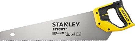 STANLEY Handsäge JetCut fein verschraubter /& verschweißter Griff aus Bi-Material