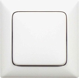 Legrand Creo Universalwippe + Rahmen neutral, ultraweiß (776160)