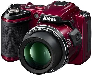 Nikon Coolpix L120 red (VMA741E1)