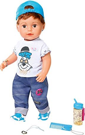 Zapf Creation Baby Born Puppe Soft Touch Brother 826911