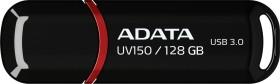 ADATA DashDrive UV150 schwarz 128GB, USB-A 3.0 (AUV150-128G-RBK)
