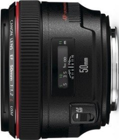 Canon EF 50mm 1.2 L USM black (1057B005/1257B005)