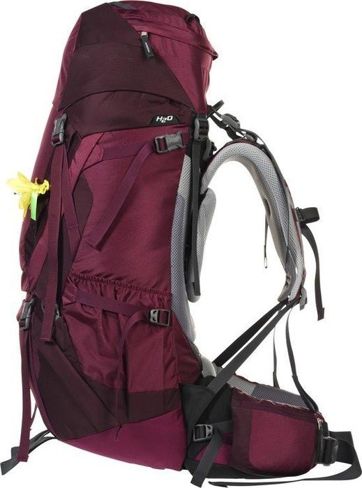 look out for united states shades of Deuter Aircontact 50+10 SL blackberry/aubergine ...