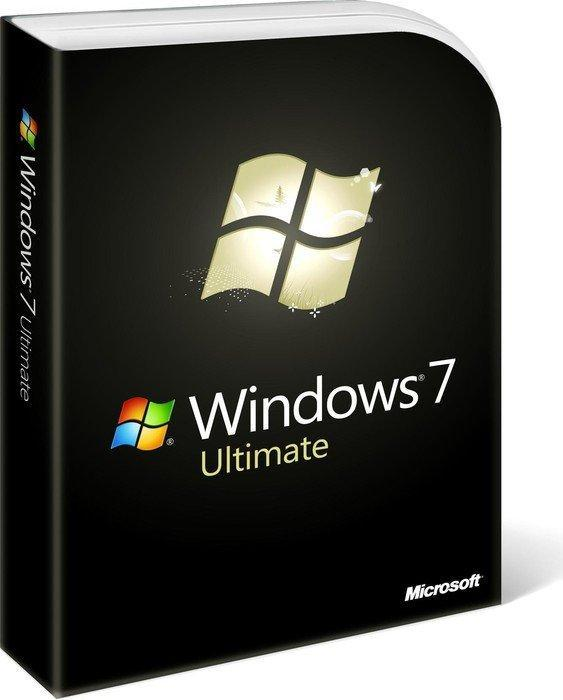 Microsoft: Windows 7 Ultimate 64Bit inkl. Service Pack 1, DSP/SB, 1er-Pack (englisch) (PC) (GLC-01844)
