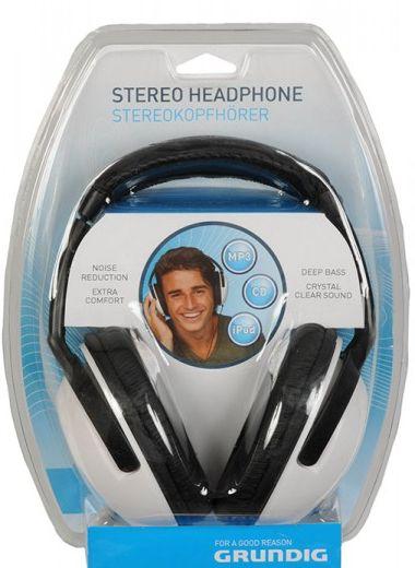 Grundig Kopfhörer Stereo weiß
