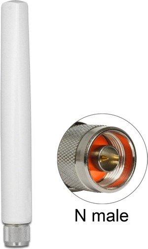DeLOCK LoRa Outdoor antenna, 868MHz/ZigBee/Z-Wave, N plug, omnidirectional black (89637)