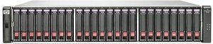 HP StorageWorks SAN P2000 G3 MSA SAS SFF, 8x SAS 6Gb/s, 2HE (AW594B)