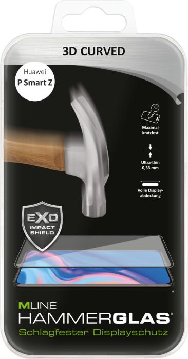 MLine 3D Curved Hammerglas für Huawei P Smart Z (MH0068)