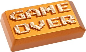 Zomoplus Aluminium Keycap GAME OVER, Backspace-Taste, gold (769129158398)