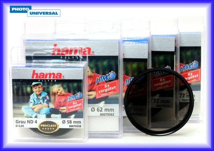 Hama Filter neutral grau HTMC 77mm (79377) -- via Amazon Partnerprogramm