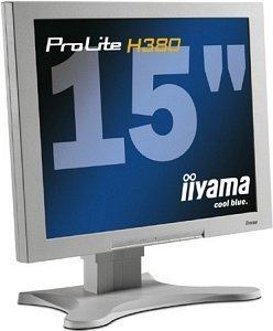 """iiyama ProLite H380-W, 15"""", 1024x768, analogowy/cyfrowy"""