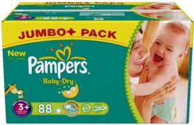 Pampers Baby-Dry Gr.3 Einwegwindel, 4-9kg, 88 Stück