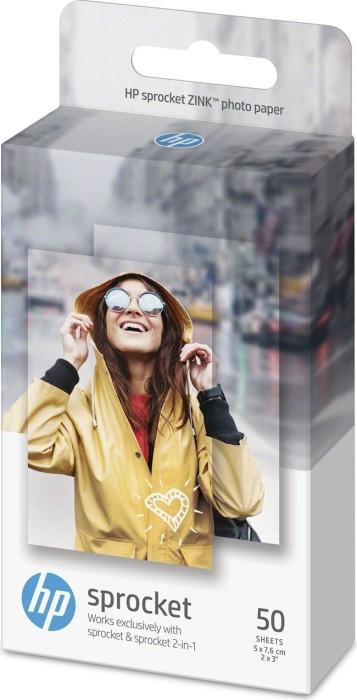 HP Zink selbstklebendes Fotopapier (1RF43A/1DE37A)