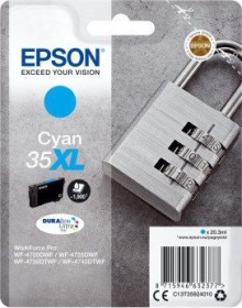 Epson Tinte 35XL cyan (C13T35924010)