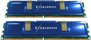 exceleram DIMM Kit   2GB, DDR2-1066, CL5-5-5-12 (EX2-21066M2-SY)