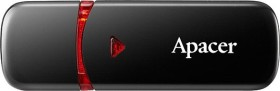 Apacer AH333 schwarz 4GB, USB-A 2.0 (AP4GAH333B-1)