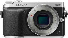 Panasonic Lumix DMC-GX7 silber Body