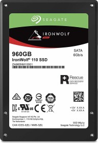 Seagate IronWolf 110 NAS SSD +Rescue 960GB, SATA (ZA960NM10001/ZA960NM10011)