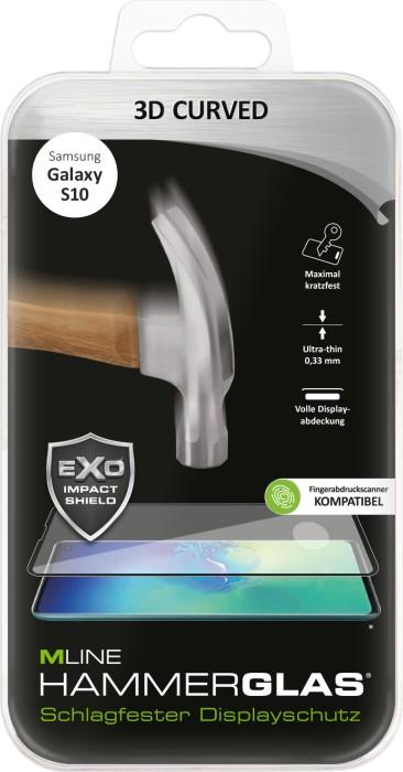 MLine 3D Curved Hammerglas für Samsung Galaxy S10 (MH0065)