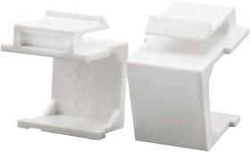LogiLink Keystone Abdeckung, weiß, 10er-Pack (NK0090)