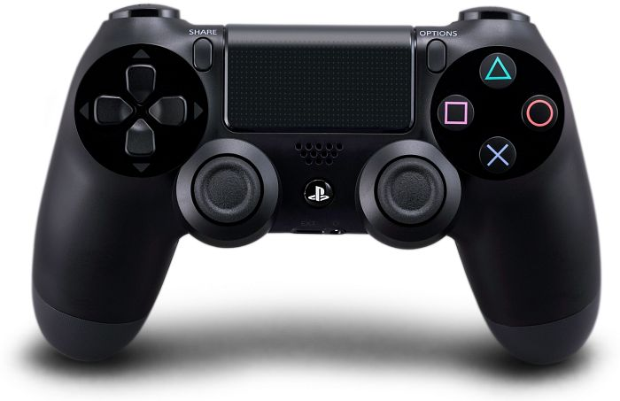 Sony DualShock 4 Controller wireless, schwarz (PS4)