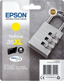 Epson Tinte 35 XL gelb (C13T35944010)