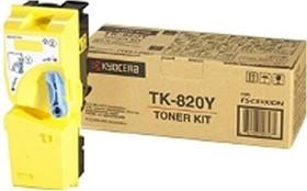 Kyocera Toner TK-820Y gelb (1T02HPAEU0)