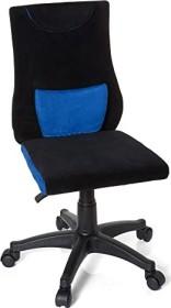 HJH Office Kiddy Pro Kinderdrehstuhl, schwarz/blau (670510)