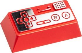 Zomoplus Aluminium Keycap Retro Gamepad II, Backspace-Taste, rot/silber (714216998494)