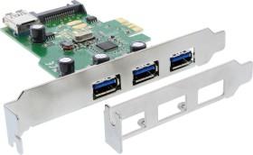 InLine 76662A, 4x USB-A 3.0, PCIe x1