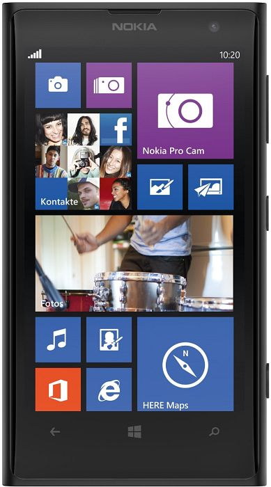 Nokia Lumia 1020 with branding