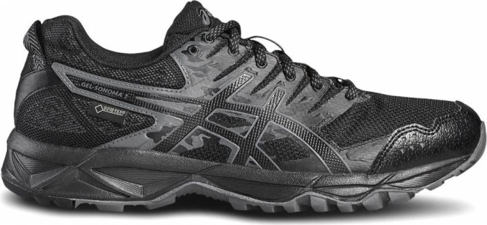 asics Gel-Sonoma 3 G-TX Shoes Woman black/onyx/carbon EU 37 (US 6) 2018 Laufschuhe EdNy0I
