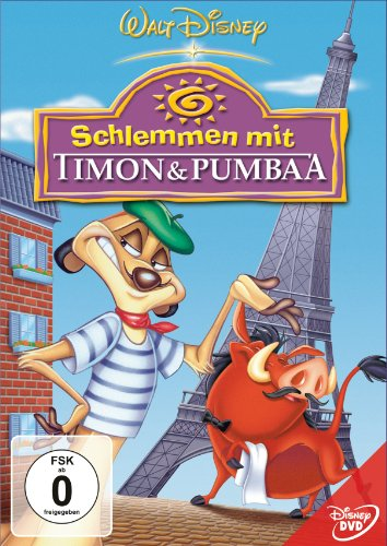 Schlemmen mit Timon & Pumbaa -- via Amazon Partnerprogramm