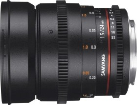 Samyang 24mm T1.5 AS IF UMC II VDSLR for Nikon F black
