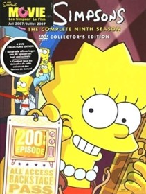The Simpsons Season 9 (DVD) (UK)