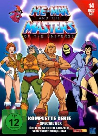 He-Man and the Masters of the Universe Box (Staffeln 1-2) (Special Editions)