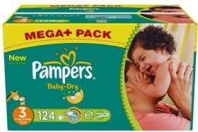 Pampers Baby-Dry Gr.3 Einwegwindel, 4-9kg, 124 Stück