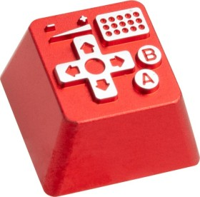 Zomoplus Aluminium Keycap Retro Gamepad I, rot/silber (714216998487)