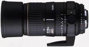 Sigma AF 135-400mm 4.5-5.6 Asp APO RF für Sony/Konica Minolta schwarz (723934)