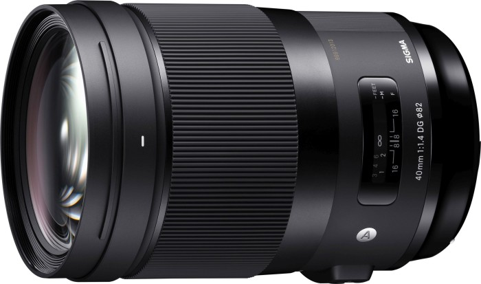 Sigma Art 40mm 1.4 DG HSM for Canon EF (332954)