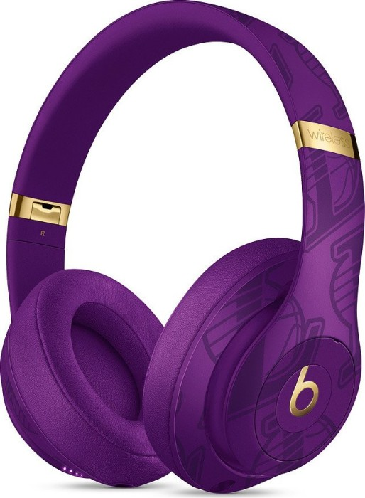 Beats by Dr. Dre Studio3 Wireless NBA Collection Lakers Purple (MUQ72ZM/A)